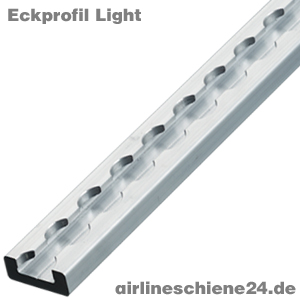 Airlineschiene Eckprofil - Light