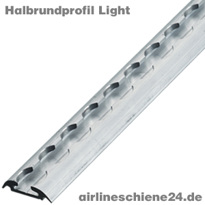 Halbrundprofil Light